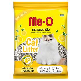 Cát Vệ Sinh Cho Mèo Me-O Hương Chanh (5L)