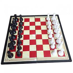 Bộ cờ vua nam châm 28cm x 28cm hộp đỏ