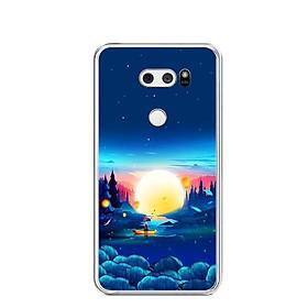 Ốp lưng dẻo cho điện thoại LG V30 - 0449 MOON10 - Hàng Chính Hãng