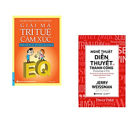 Combo 2 cuốn sách: Giải Mã Trí Tuệ Cảm Xúc + Nghệ Thuật Diễn Thuyết Để Thành Công