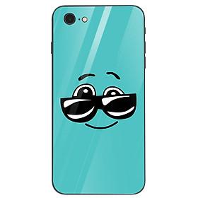 Ốp kính cường lực cho điện thoại iPhone 6 Plus/6s Plus - emojis nhiều cảm xúc MS EMGES013
