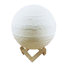 Đèn Mặt Trăng In 3D Kèm Đế Đỡ (20cm)
