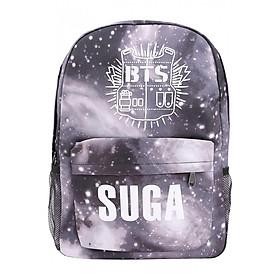 Balo Học Sinh Ban Nhạc BTS Suga - Màu Gray Galaxy