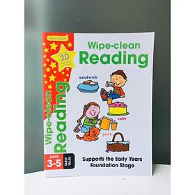 Sách :Gold Stars Wipe clean reading - Học tiếng anh (Sách NHập Khẩu )