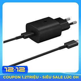 Bộ sạc nhanh USB-C Samsung Travel Adapter 25W - Hàng Nhập Khẩu