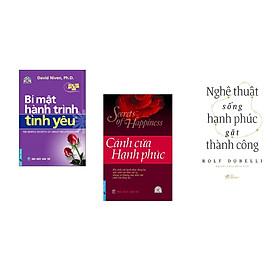Combo 3 cuốn sách: Bí Mật Hành Trình Tình Yêu + Cánh Cửa Hạnh Phúc + Nghệ thuật sống hạnh phúc gặt thành công