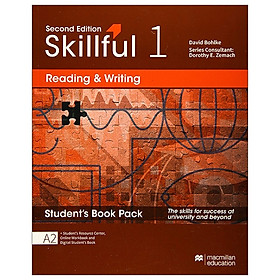 Skillful Second Edition Level 1 Reading & Writing Student's Book + Digital Student's Book Pack