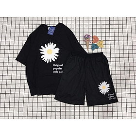 Set Đồ Bộ Cúc Orginal 3D -Pijama, Đồ Bộ Thun, Set đồ mặc nhà, bộ ngủ,Áo+ Quần Đùi Vải Thun Cotton,Đồ Bộ Nam Nữ