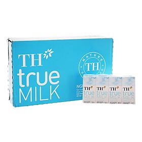 Thùng Sữa tươi tiệt trùng Nguyên chất TH True Milk (180ml x 48 hộp)