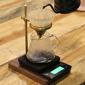 Cân điện tử mini nhà bếp cân cà phê với bộ đếm giờ