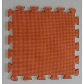 Thảm Cho Trẻ Thơ Trơn 60cmx60cm màu cam
