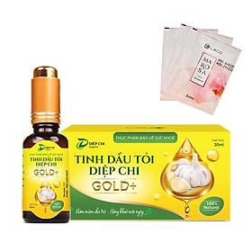 Tinh Dầu tỏi Diệp Chi Gold + Kháng sinh tự nhiên , hổ trợ ho, cảm, sổ mủi tặng sữa rửa mặt MAROSA LACO