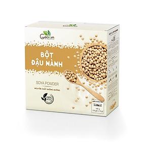 Bột đậu nành nguyên chất Goce Việt Nam không đường, hộp 180g (18 gói x 10g) tốt cho sức khỏe, giá tốt, tiện lợi an toàn