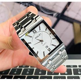 Đồng hồ nam HALEI 564 mặt vuông thời trang cao cấp