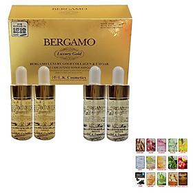 Serum Bergamo VÀNG Giảm Thâm Nám Ngừa Mụn Mềm Mịn Da + Tặng Mask 3W Bất Kỳ