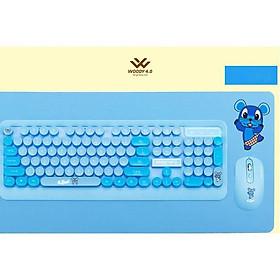 Bộ bàn phím và chuột không dây LOFREE BDuck  hoạt hình dễ thương