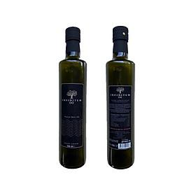 Combo 2 chai dầu ôliu 500ml nguyên chất tự nhiên 100% ép lạnh INFINITUM Extra Virgin Olive Oil nhập khẩu nguyên chai từ Thổ Nhĩ Kỳ (Turkey)