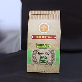 Bột ngũ cốc 500gr - Thực phẩm chức năng dành cho người ăn kiêng, tiểu đường - Nông Sản Vàng