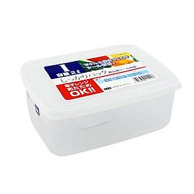 Hộp Nhựa Nhựa Đựng Thực Phẩm Cao Cấp 2000ML - Nội Địa Nhật