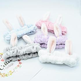 Băng đô tai thỏ đủ màu sắc