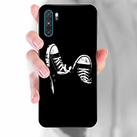 Ốp lưng dành cho Vsmart Active 3  mẫu Giày nền đen
