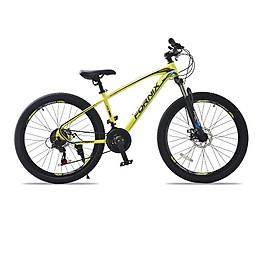 Xe đạp địa hình hiệu Fornix Climber, vòng bánh 26', màu vàng đen