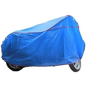Bạt phủ xe máy chống nắng mưa - Màu ngẫu nhiên