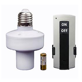 Đui đèn điều khiển từ xa E27 - đuôi đèn điều khiển từi xa (MÀU ĐEN)
