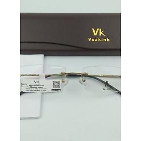 Gọng kính cận không viền càng zic zac VK-20