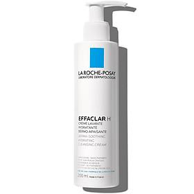 Sữa Rửa Mặt Làm Dịu Và Cấp Ẩm Cho Da Mụn Khô La Roche-Posay Effaclar H Cleansing Cream 200ml