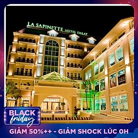 La Sapinette Hotel 4* Đà Lạt - Gồm Buffet Sáng, Không Phụ Thu Cuối Tuần, Khách Sạn Hàng Đầu Việt Nam