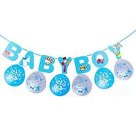 COMBO TRANG TRÍ BABY SHOWER CHO BÉ TRAIBABY BOY