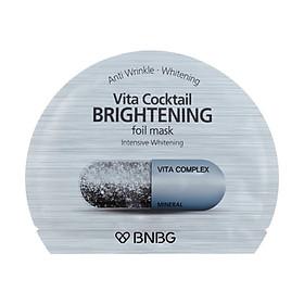 Mặt nạ cao cấp dưỡng sáng da và làm mờ vết thâm Banobagi Vita Cocktail Brightening Foil Mask - Intensive Brightening 30ml