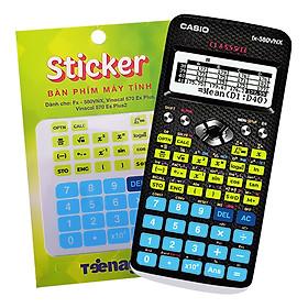 Sticker Bàn Phím Máy Tính Casio/Vinacal CSX003