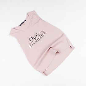 Áo ba lỗ Quảng Châu hồng cho bé gái R03395
