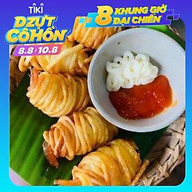 [CHỈ GIAO HN] - VITOT FOOD TÔM CUỘN KHOAI TÂY (1 khay 10 chiếc)