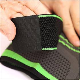 Băng đai bảo vệ giảm áp lực lên xương đầu gối khi tập Gym AK_24-3