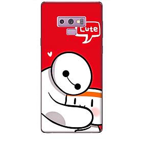 Ốp lưng dành cho điện thoại  SAMSUNG GALAXY NOTE 9 hinh Big Hero Cute