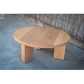 """Bàn gỗ tự nhiên 3 chân làm từ gỗ mật hồng tự nhiên 100%, tôn tạo nên vẻ đẹp cho không gian ngôi nhà bạn, thiết kế thanh lịch và sang trọng. """""""