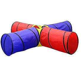 Đồ chơi ống chui đường hầm 4 hướng - HH1090