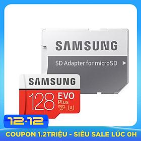 Thẻ Nhớ Micro SDXC Samsung Evo Plus 128GB U3 100MB/s (Box Hoa New 2020) - Hàng nhập khẩu