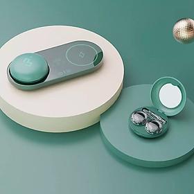 Máy siêu âm làm sạch kính áp tròng Xiaomi Youpin, hộp đựng kính áp tròng, kính bảo vệ tránh gây hại cho mắt
