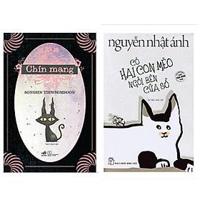 Combo 2 cuốn: Có Hai Con Mèo Ngồi Bên Cửa Sổ + Chín Mạng + Bookmark aha