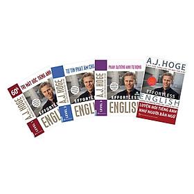 Combo Trọn Bộ 4 Cuốn Effortless English - Phương Pháp Học Tiếng Anh Như Người Bản Ngữ ( A.J.Hoge )