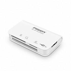 Đầu đọc thẻ đa năng Pisen All-in-one USB 3.0 - Hàng chính hãng