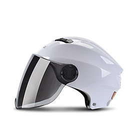 Motorcycle Helmet 3/4 Open Face Moto Helmets Scooter Unisex Biker Motocross Motorbike Casque Racing Streamline Version