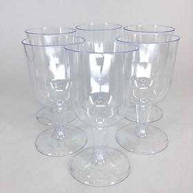 Bộ 6 ly rượu vang bằng nhựa