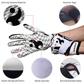 Batting Gloves Unisex Baseball Softball Batting Gloves Anti-slip Batting Gloves For Adults-3
