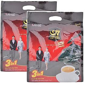 Combo 2 gói cafe sữa G7 3in1 Trung Nguyên ( 800g / gói )
