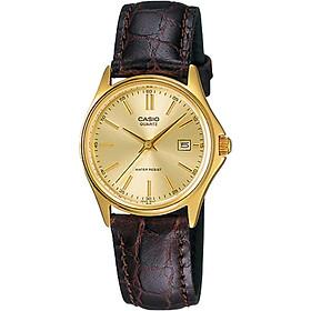 Đồng hồ nữ dây da Casio LTP-1183Q-9ADF